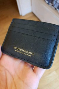 Unused Scotch & Soda leather/suede cardholder Greater London, WC1R 4PS