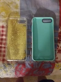 two teal and gold glittery iPhone cases Covington, 45318