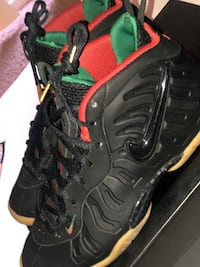 Gs Nike Foams Black Gucci 7y