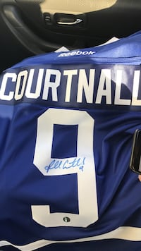 Signed Leafs Jersey
