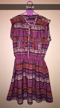 women's purple and brown sleeveless dress Mission, 78574