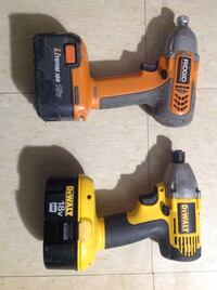 yellow and black Dewalt power drill Toronto, M1B 2C9
