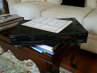 black Sony DVD player with remote Augusta, 30909