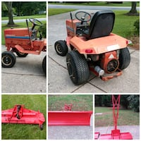Gravely 8122 with Plow, Weights, Mower and Chains Ellicott City, 21042