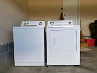 whirlpool set with gas dryer