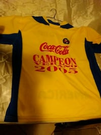 yellow and black Adidas jersey shirt 1954 mi