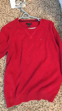 red Tommy Hilfiger sweater Myrtle Beach, 29588