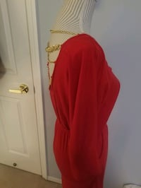 Red dress medium with beautiful back