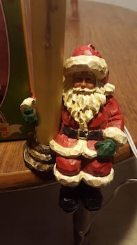 Santa Claus ceramic figurine