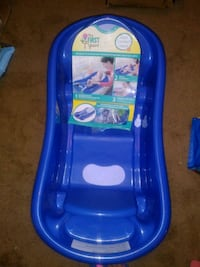 baby's blue plastic bather Schenectady, 12304