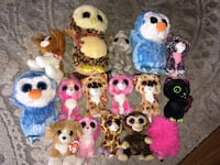 Lot of Beanie Boos and Beanie Babies Springfield, 22152