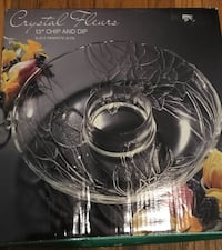 clear cut glass punch bowl set Cherry Hill, 08003