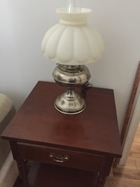Antique pewter table lamp Gaithersburg, 20878