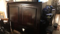 brown wooden cabinet with mirror New York, 11361