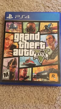 Grand Theft Auto Five PS4 College Park, 20740
