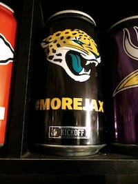 Jacksonville Jaguars NFL Football Can