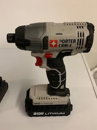 Black and gray cordless power drill Industry, 15052