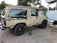 Ford - Bronco - 1986 Midwest City
