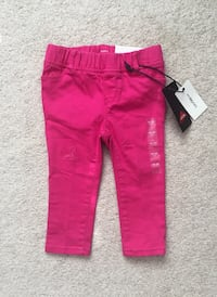 Babygap pink skinny jeans size 18-24m- new with tags