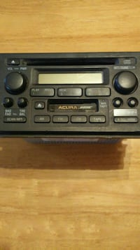 built-in Acura stereo