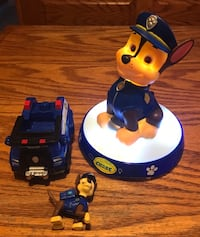 Paw Patrol Chase Night Light - $30