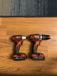 Milwaukee impact driver and drill driver Romeoville, 60446