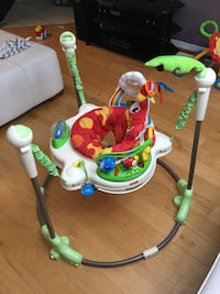 baby's rainforest Fisher-Price jumperoo Kitchener, N2E 3L3