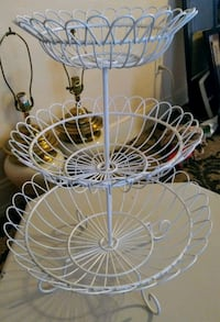 3 tier basket stand serving tray