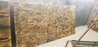 Worked plywood
