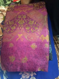 purple and pink floral textile Mumbai
