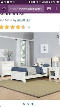 Kids bedroom set still in box sealed box paid over $700 Hoover, 35226