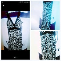 Zebra print Ladies long dress. London, N6H 1M9