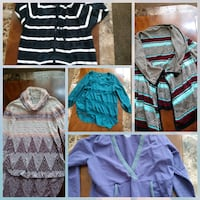 Over 60 tops and 3 pants.All for $20 Sandy, 84094
