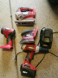 red and black cordless power drill Santa Fe, 87507