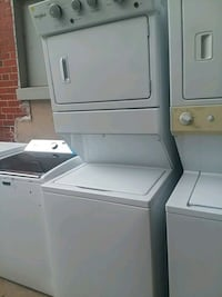 Whirlpool washer and dryer unit stackable  Baltimore, 21223