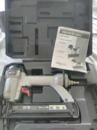Porter Cable compression nail gun with case