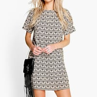 women's black and gray midi dress Vaughan, L6A 3J8