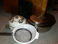 Roasting Pan, Pot, Colander, Muffin Pans, Cooling  DeLand