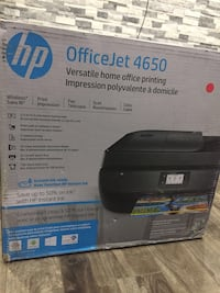 New HP officejet 4650 Toronto, M8V 0C5