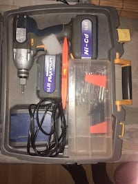black and gray Craftsman cordless power drill Gatineau, J8X 1H3