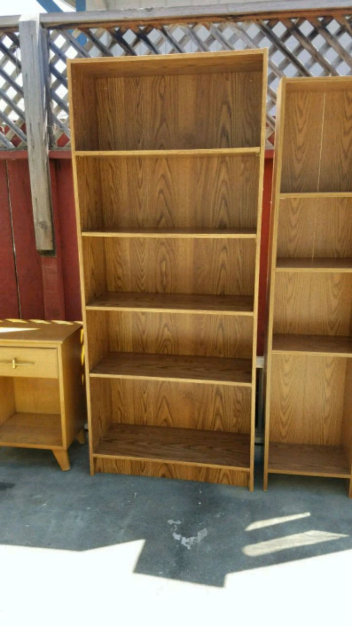 Superbe Book Cases, End Table, Display Case