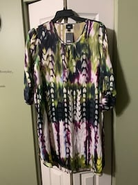 Shirt Dresses size 2x (2/$20). Great deal, both sold together. Clinton Township, 48036