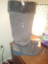 Guess suede wedge boots Windsor, N9C