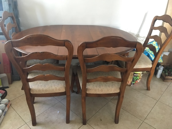 Dining Room Set - Ethan Allen French Country 1990s Vintage