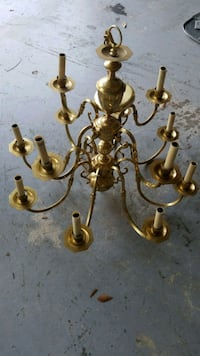 Brass chandelier  Valrico, 33596