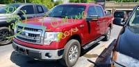 red Ford crew cab pickup truck Cabot, 72023
