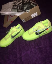 Off white Air Force 1s (green) Mississauga
