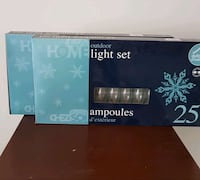 Two Sets of 25 Clear Outdoor Lights St. Albert, T8N 5K1