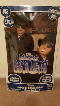 Blues Brothers Nostalgic Collectable dolls Clearwater, 33764