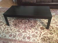 Rectangular dark brown coffee table 44 inch length and 22 inch width  Toronto, M2R